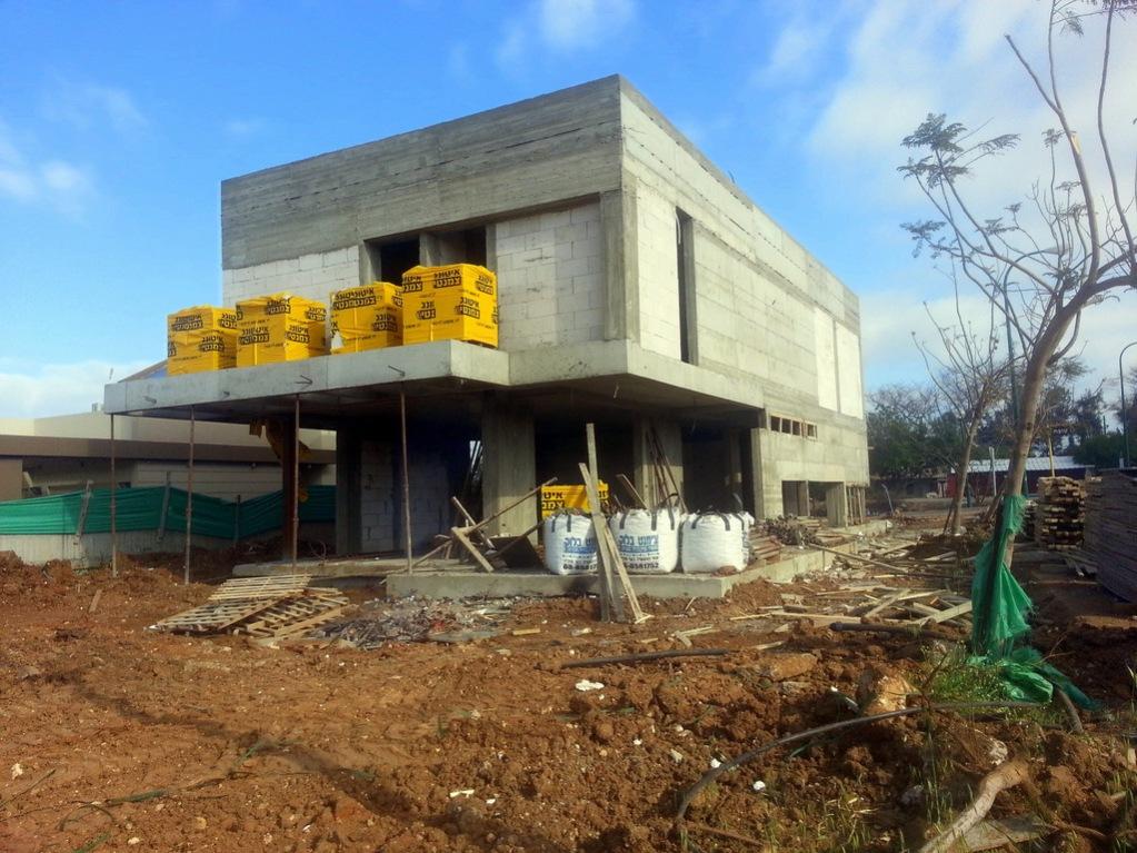 אדריכלות | שלבי בנייה