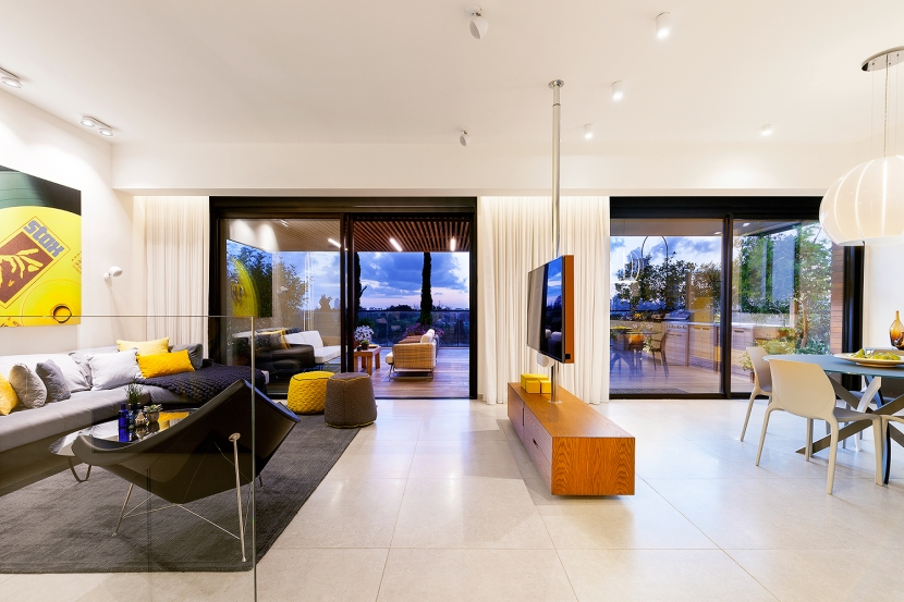 תכנון דירת קבלן BLV Design/Architecture